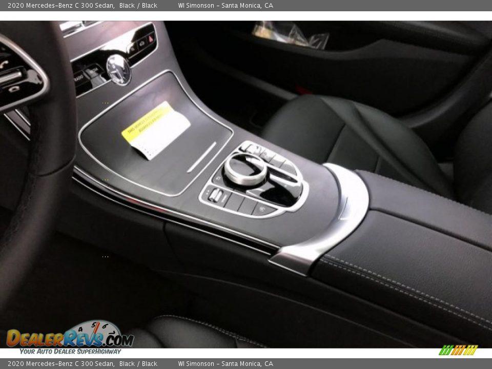 2020 Mercedes-Benz C 300 Sedan Black / Black Photo #7