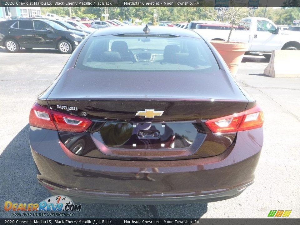 2020 Chevrolet Malibu LS Black Cherry Metallic / Jet Black Photo #4