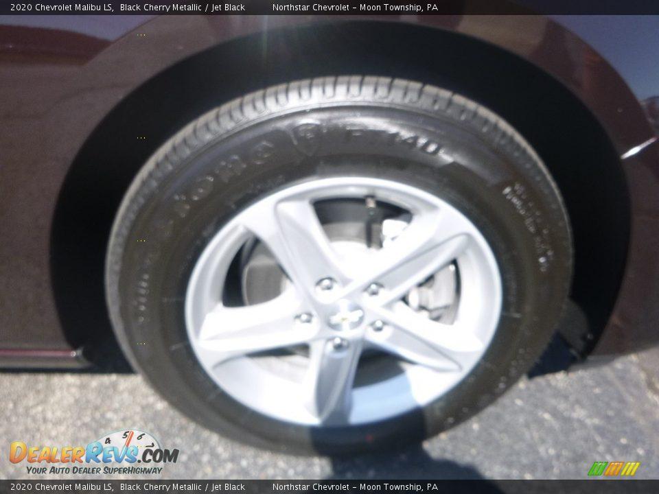 2020 Chevrolet Malibu LS Black Cherry Metallic / Jet Black Photo #9