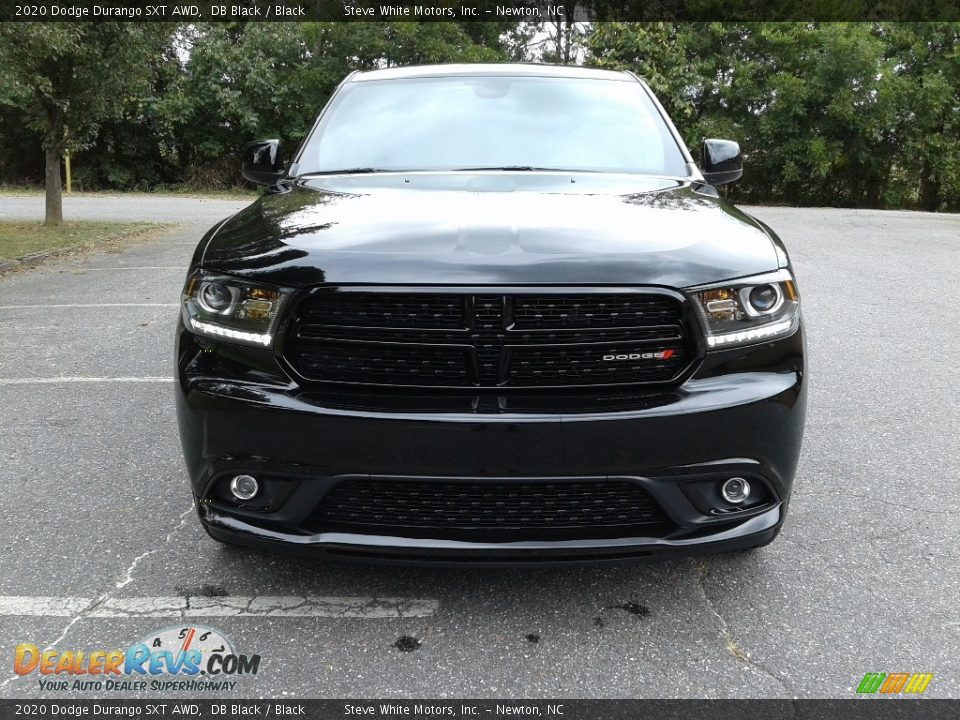2020 Dodge Durango SXT AWD DB Black / Black Photo #3