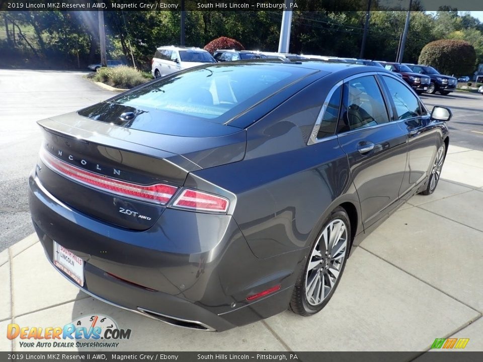 2019 Lincoln MKZ Reserve II AWD Magnetic Grey / Ebony Photo #6