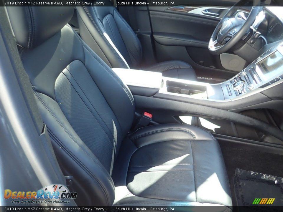 2019 Lincoln MKZ Reserve II AWD Magnetic Grey / Ebony Photo #11