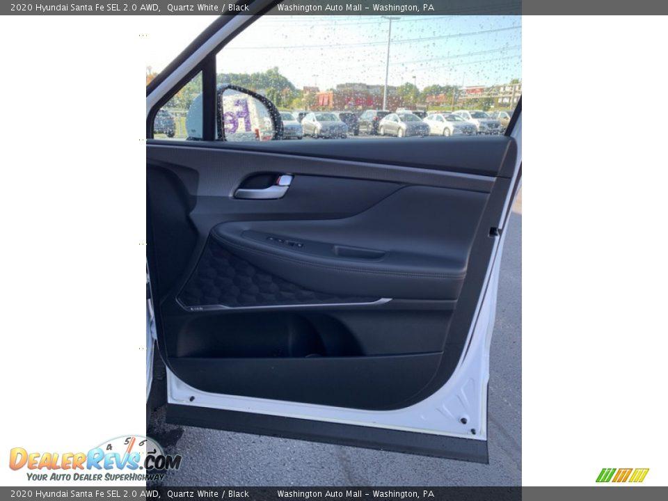 2020 Hyundai Santa Fe SEL 2.0 AWD Twilight Black / Black Photo #28