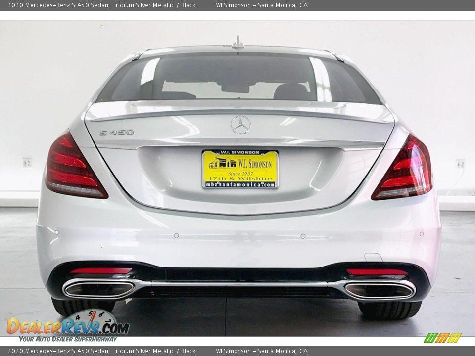 2020 Mercedes-Benz S 450 Sedan Iridium Silver Metallic / Black Photo #3