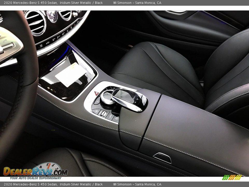 2020 Mercedes-Benz S 450 Sedan Iridium Silver Metallic / Black Photo #7