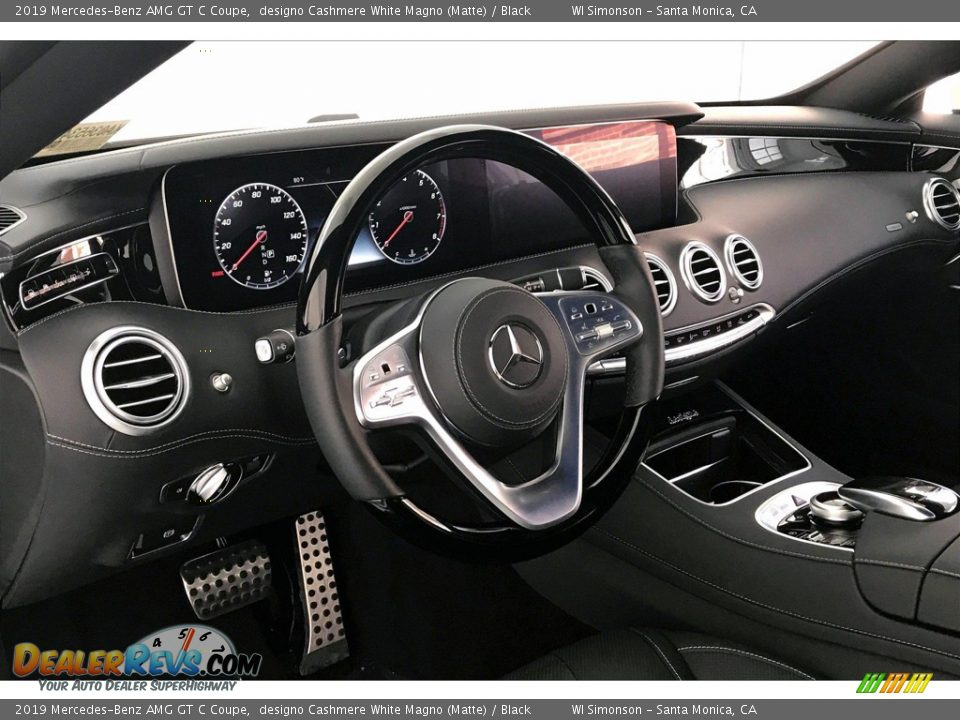 Dashboard of 2019 Mercedes-Benz AMG GT C Coupe Photo #22