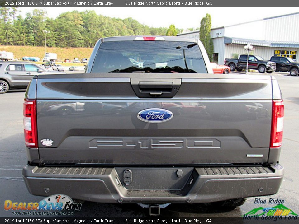 2019 Ford F150 STX SuperCab 4x4 Magnetic / Earth Gray Photo #4