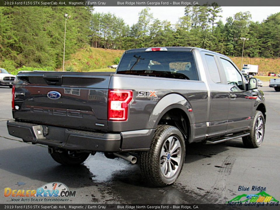 2019 Ford F150 STX SuperCab 4x4 Magnetic / Earth Gray Photo #5