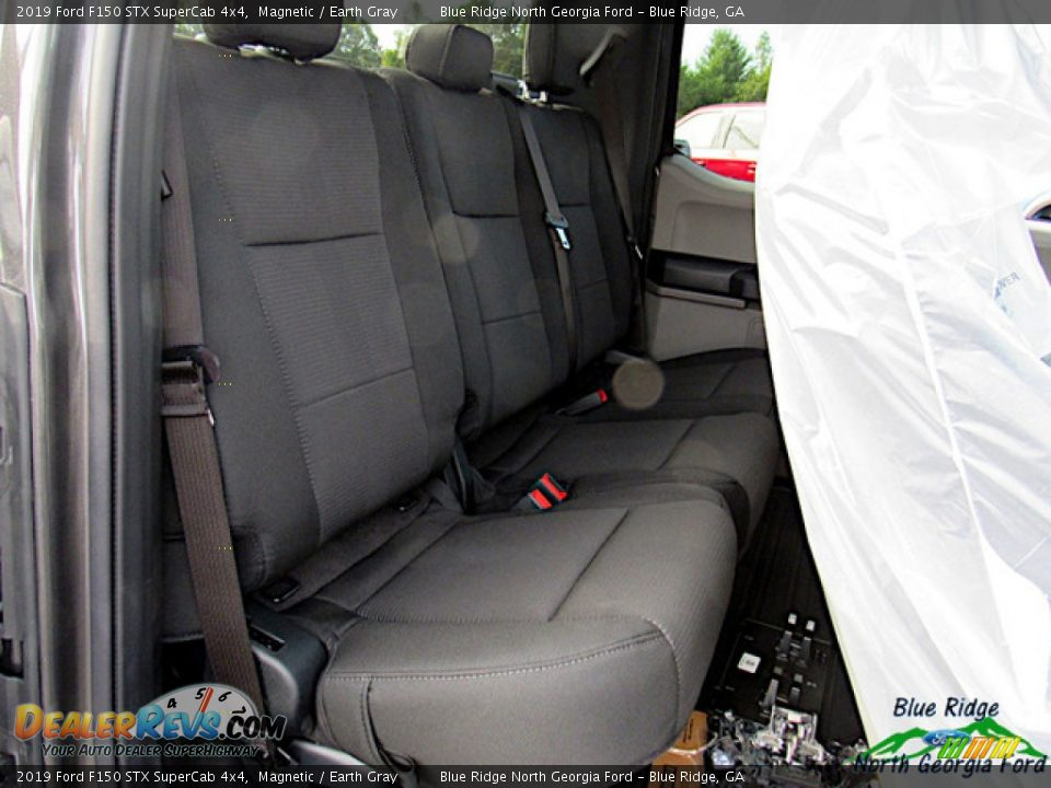 2019 Ford F150 STX SuperCab 4x4 Magnetic / Earth Gray Photo #13