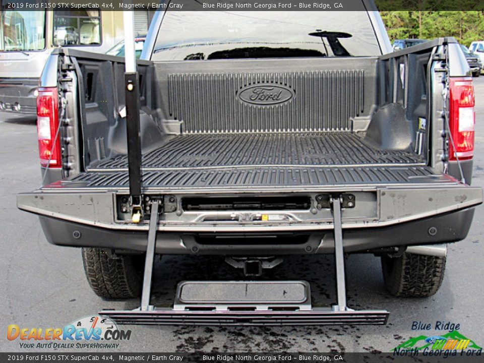 2019 Ford F150 STX SuperCab 4x4 Magnetic / Earth Gray Photo #14