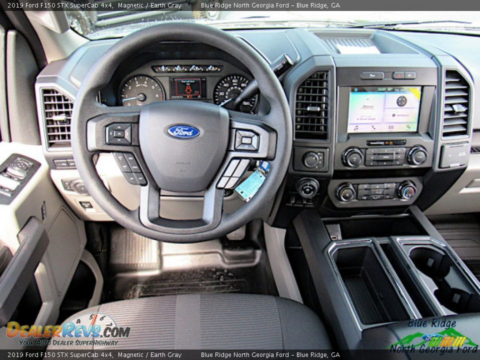 2019 Ford F150 STX SuperCab 4x4 Magnetic / Earth Gray Photo #15