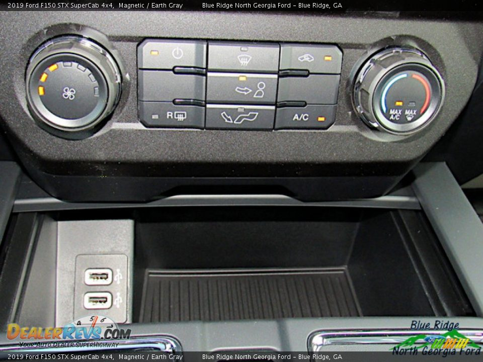 2019 Ford F150 STX SuperCab 4x4 Magnetic / Earth Gray Photo #22