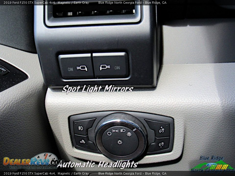 2019 Ford F150 STX SuperCab 4x4 Magnetic / Earth Gray Photo #24