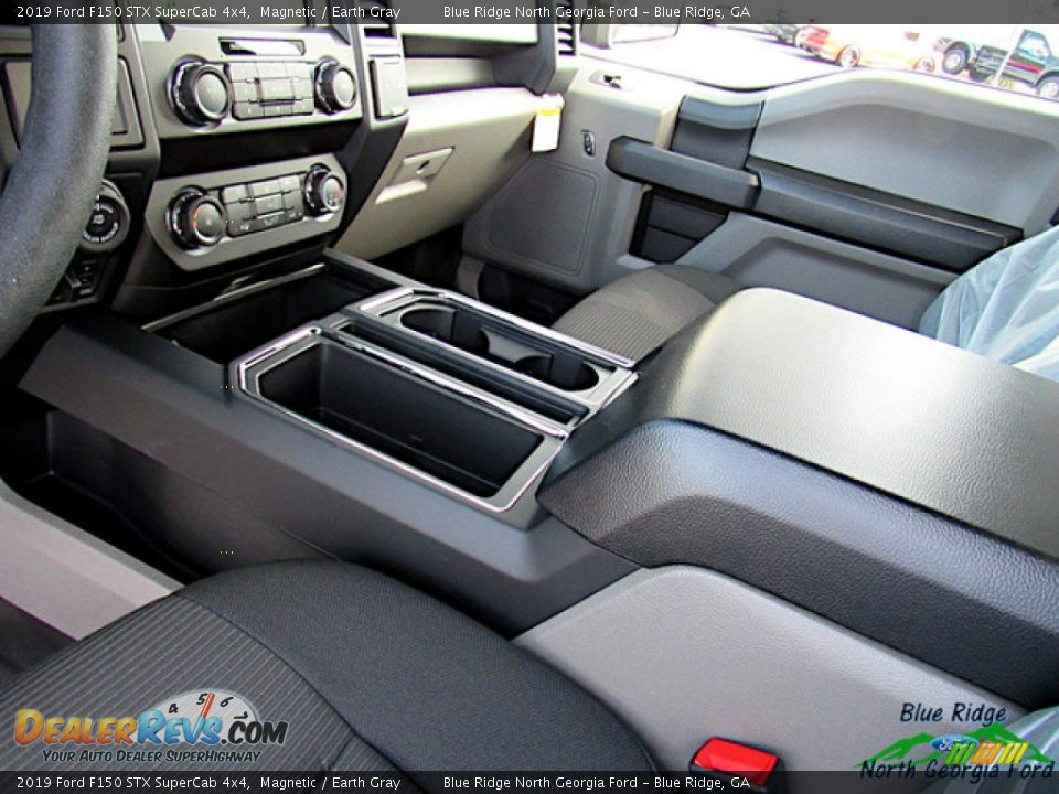 2019 Ford F150 STX SuperCab 4x4 Magnetic / Earth Gray Photo #25