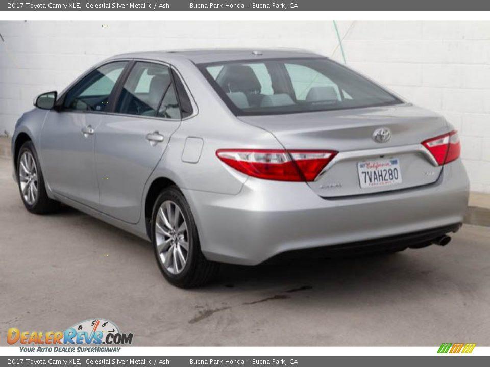 2017 Toyota Camry XLE Celestial Silver Metallic / Ash Photo #2