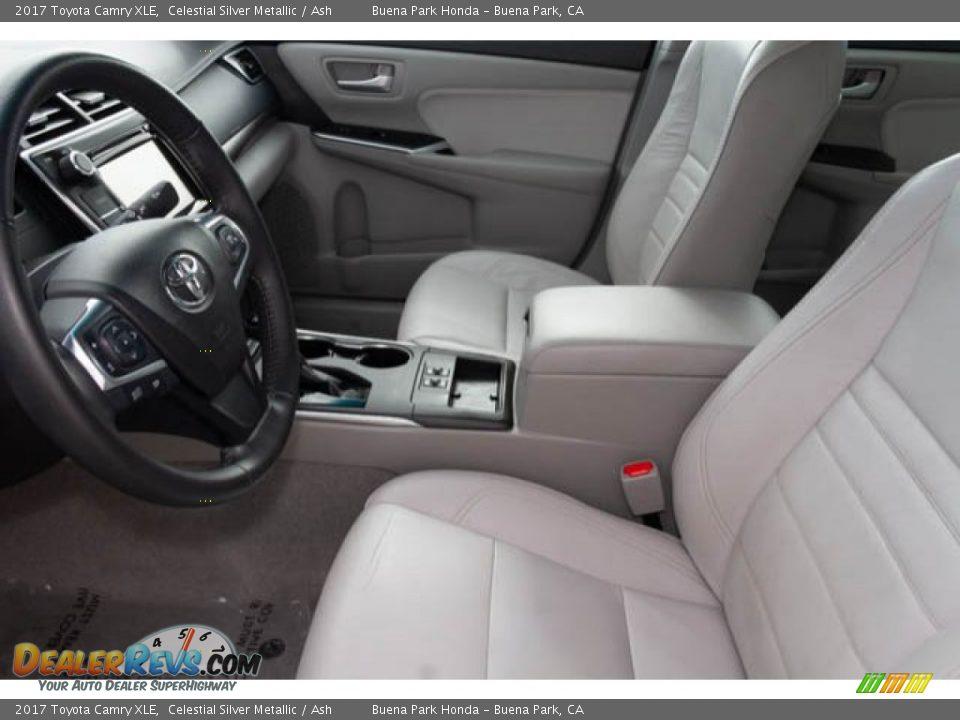 2017 Toyota Camry XLE Celestial Silver Metallic / Ash Photo #3