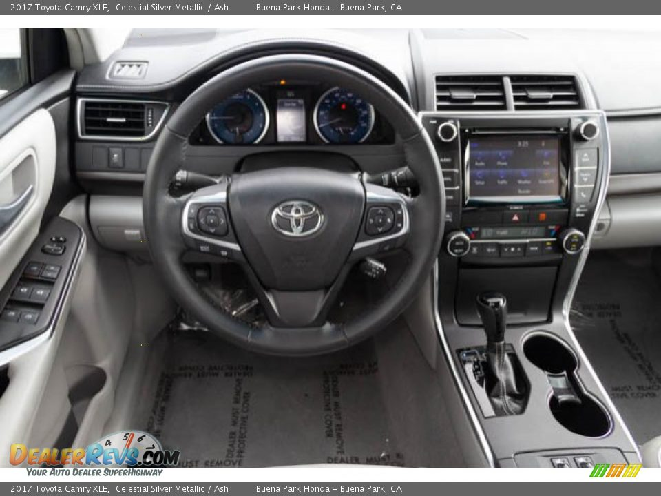 2017 Toyota Camry XLE Celestial Silver Metallic / Ash Photo #5