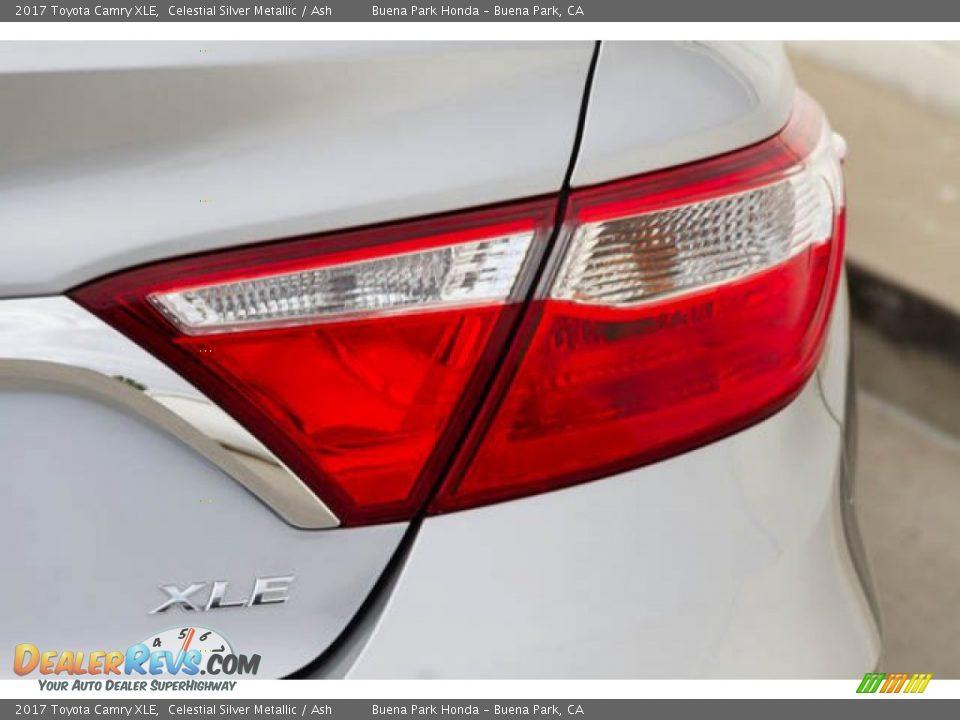 2017 Toyota Camry XLE Celestial Silver Metallic / Ash Photo #11