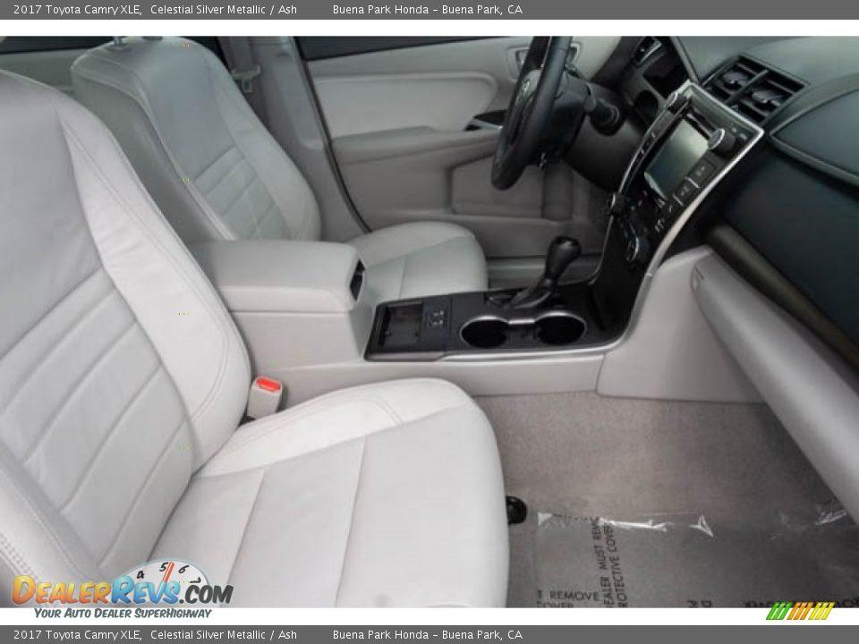 2017 Toyota Camry XLE Celestial Silver Metallic / Ash Photo #22
