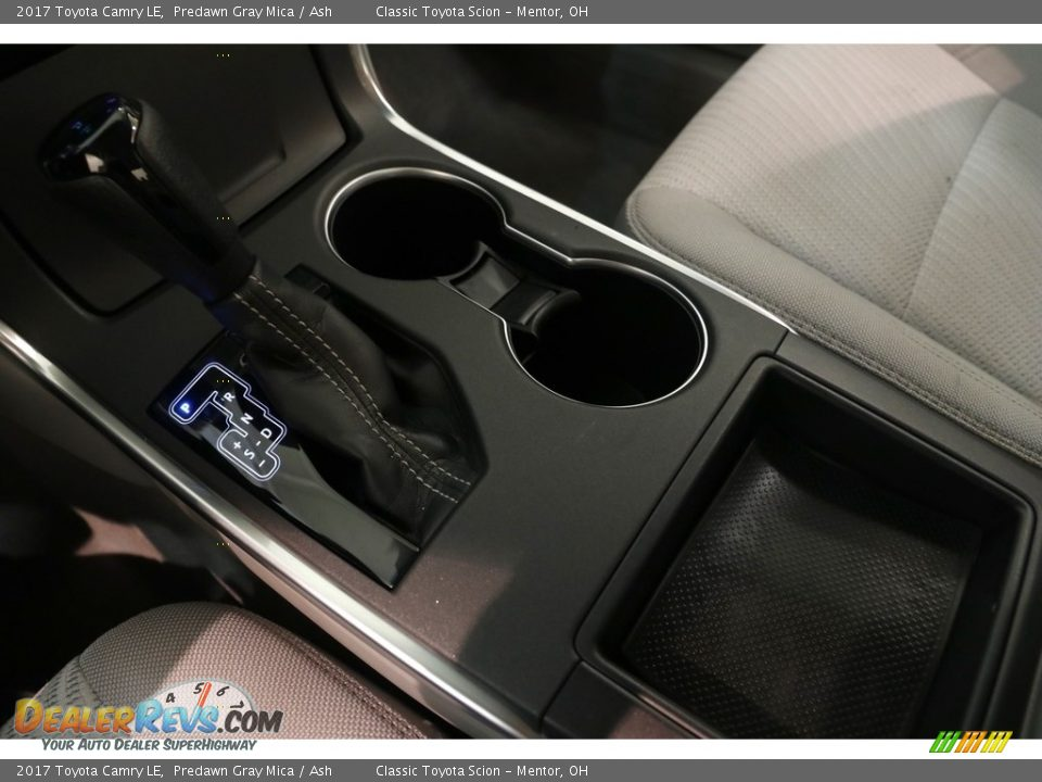 2017 Toyota Camry LE Predawn Gray Mica / Ash Photo #13