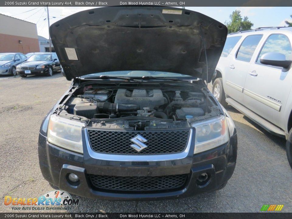 2006 Suzuki Grand Vitara Luxury 4x4 Black Onyx / Black Photo #5