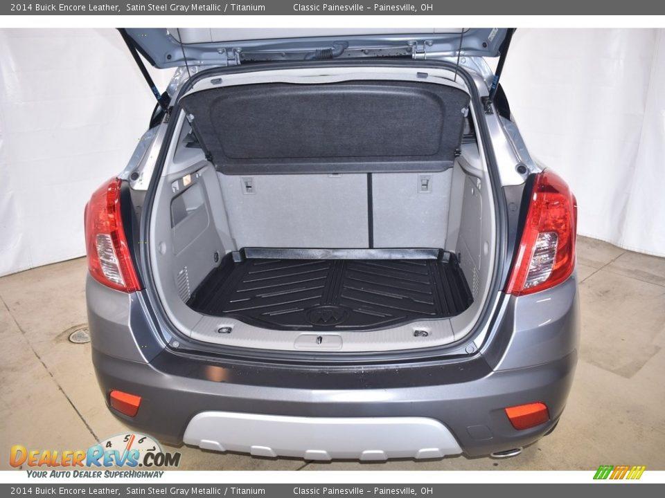 2014 Buick Encore Leather Satin Steel Gray Metallic / Titanium Photo #10