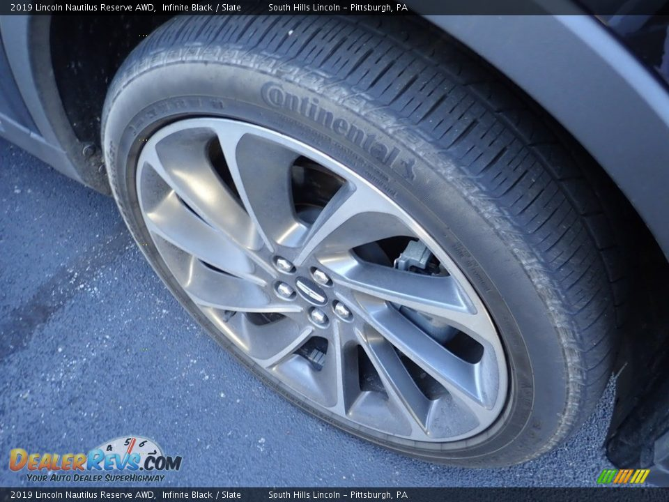 2019 Lincoln Nautilus Reserve AWD Infinite Black / Slate Photo #5
