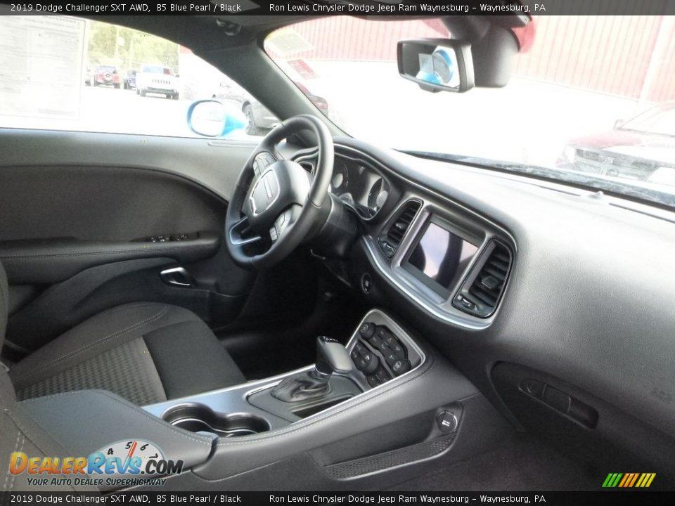 2019 Dodge Challenger SXT AWD B5 Blue Pearl / Black Photo #12
