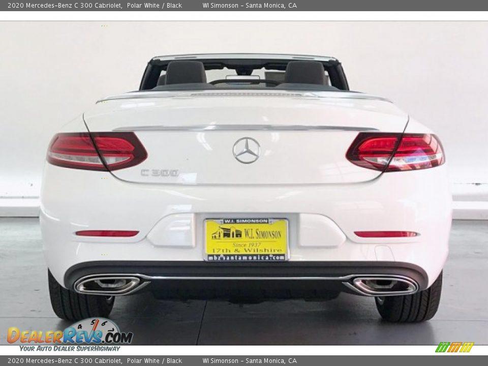 2020 Mercedes-Benz C 300 Cabriolet Polar White / Black Photo #3