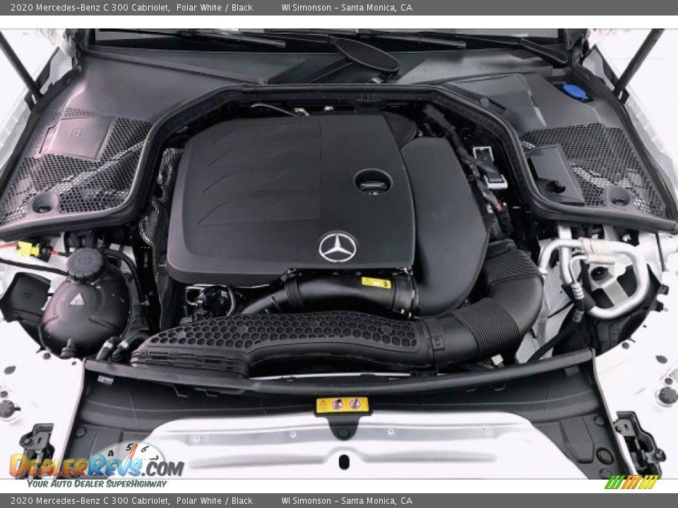 2020 Mercedes-Benz C 300 Cabriolet Polar White / Black Photo #8