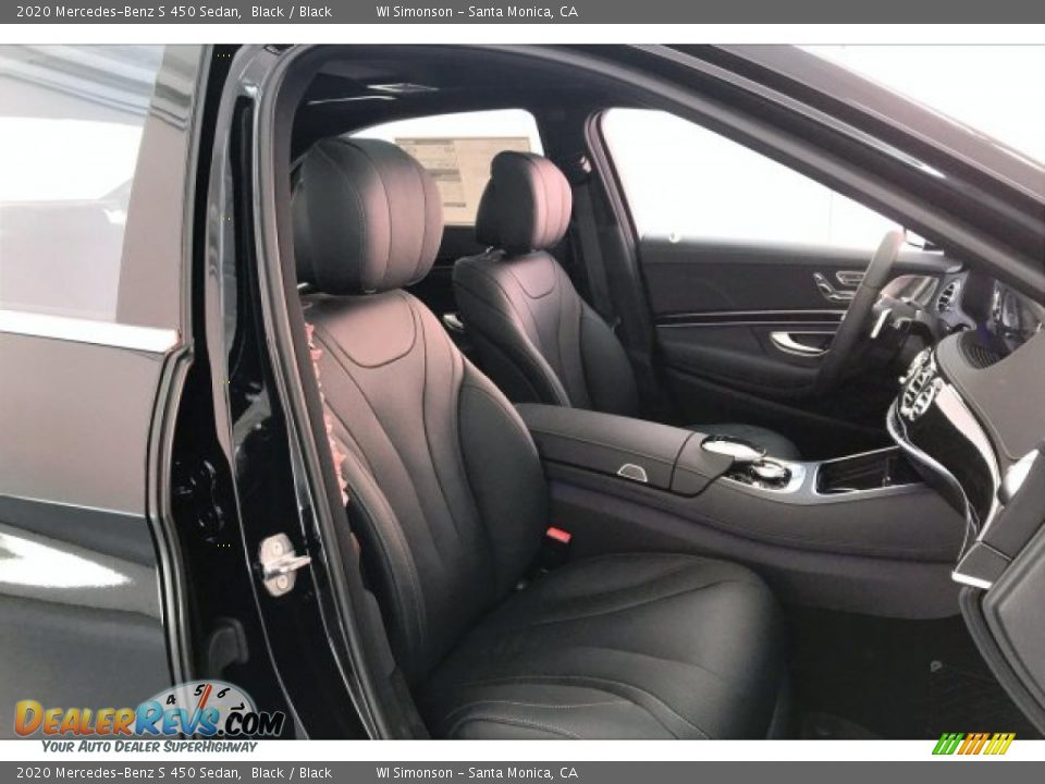 2020 Mercedes-Benz S 450 Sedan Black / Black Photo #5