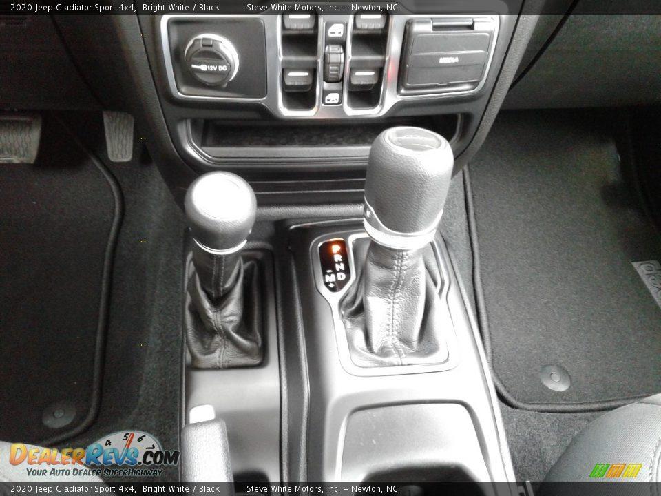 2020 Jeep Gladiator Sport 4x4 Bright White / Black Photo #26