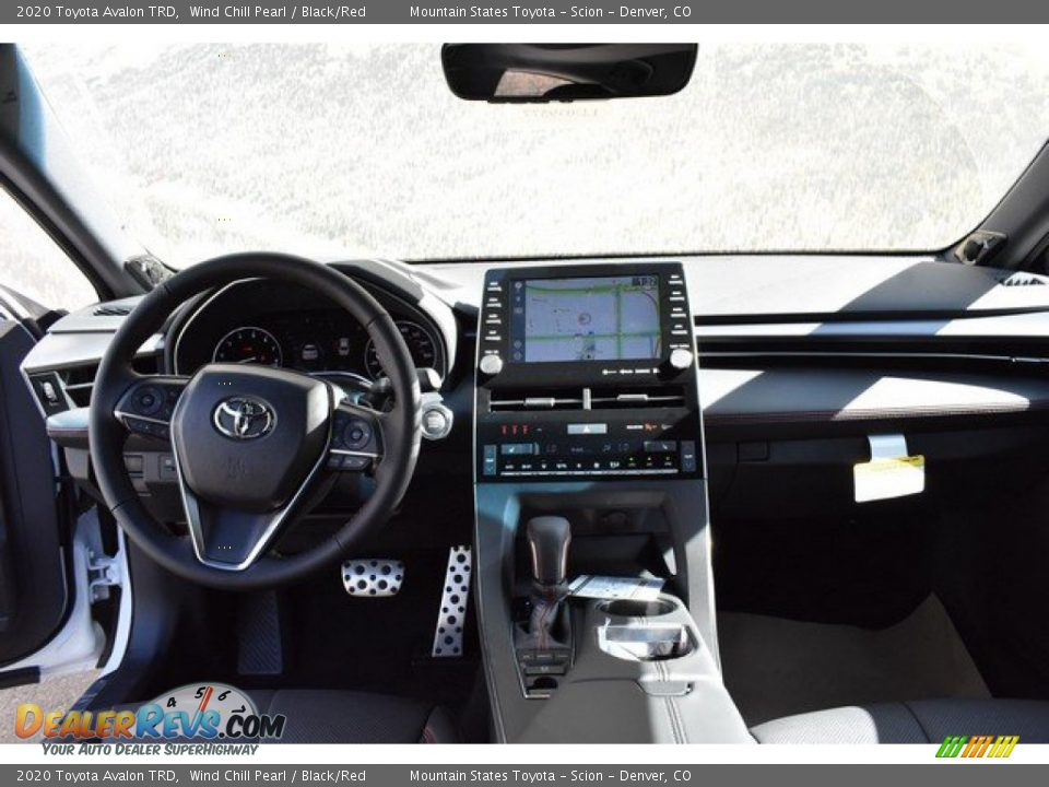 Dashboard of 2020 Toyota Avalon TRD Photo #7