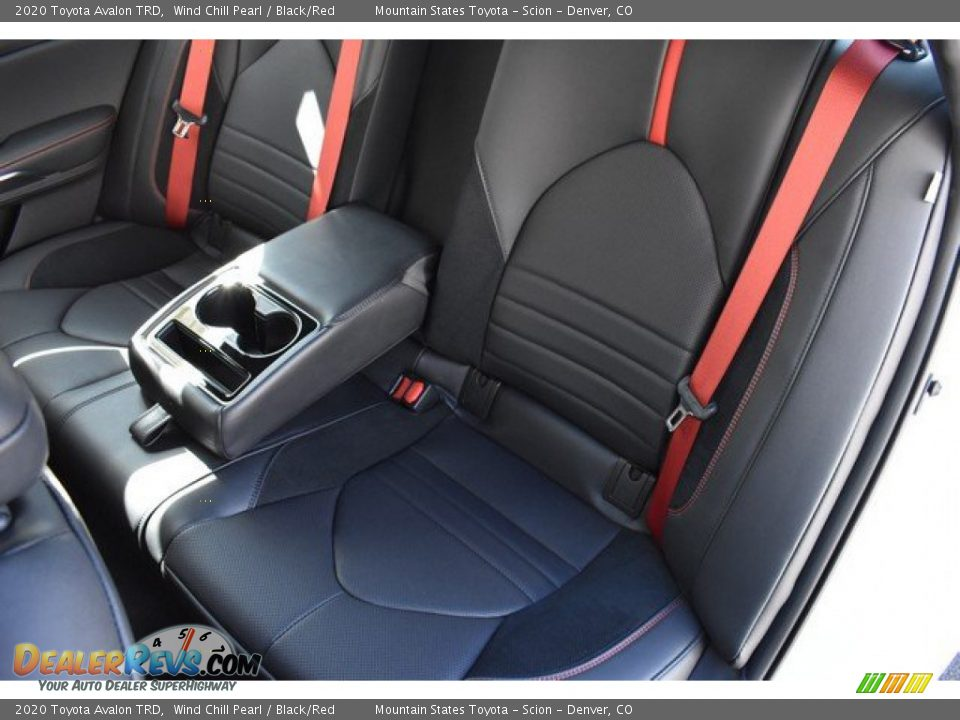 Rear Seat of 2020 Toyota Avalon TRD Photo #10