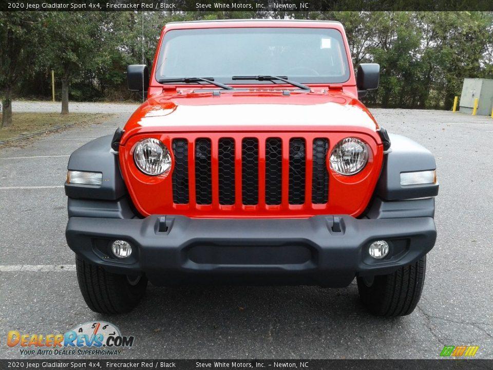 2020 Jeep Gladiator Sport 4x4 Firecracker Red / Black Photo #3