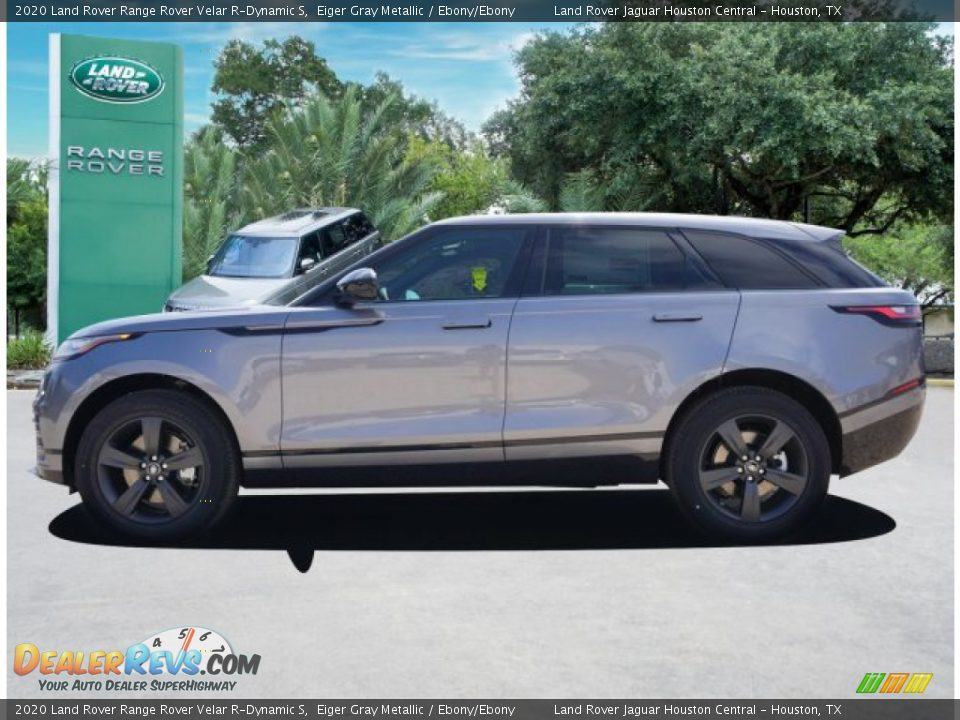 2020 Land Rover Range Rover Velar R-Dynamic S Eiger Gray Metallic / Ebony/Ebony Photo #3