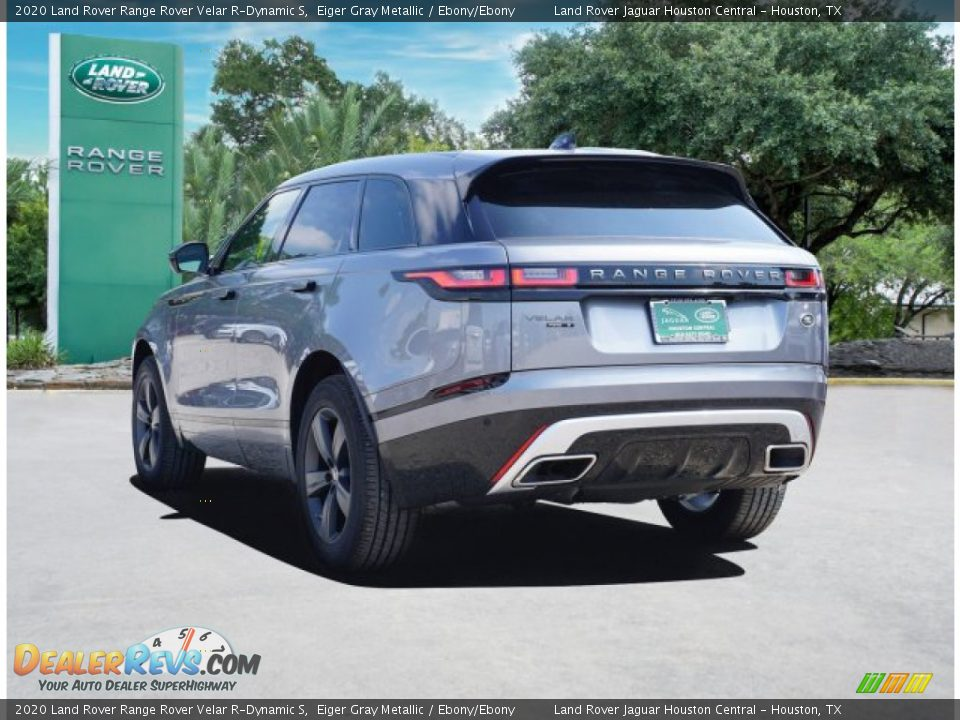 2020 Land Rover Range Rover Velar R-Dynamic S Eiger Gray Metallic / Ebony/Ebony Photo #5