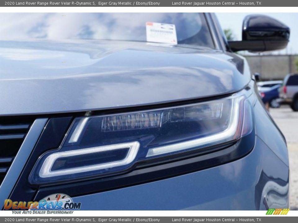 2020 Land Rover Range Rover Velar R-Dynamic S Eiger Gray Metallic / Ebony/Ebony Photo #6
