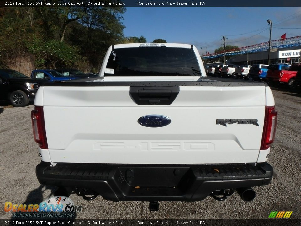 2019 Ford F150 SVT Raptor SuperCab 4x4 Oxford White / Black Photo #3