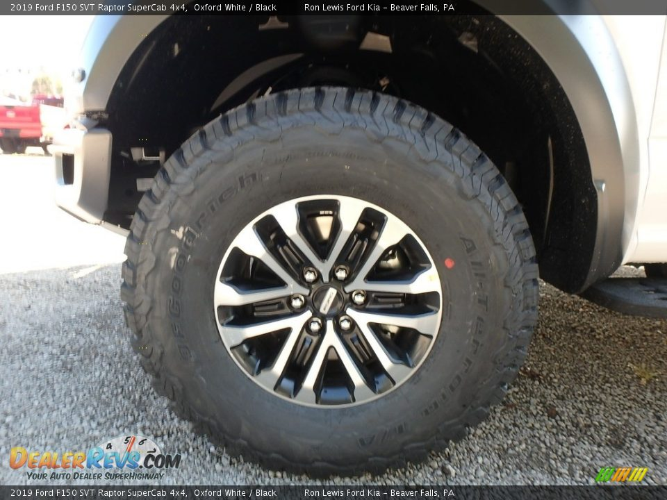 2019 Ford F150 SVT Raptor SuperCab 4x4 Wheel Photo #9