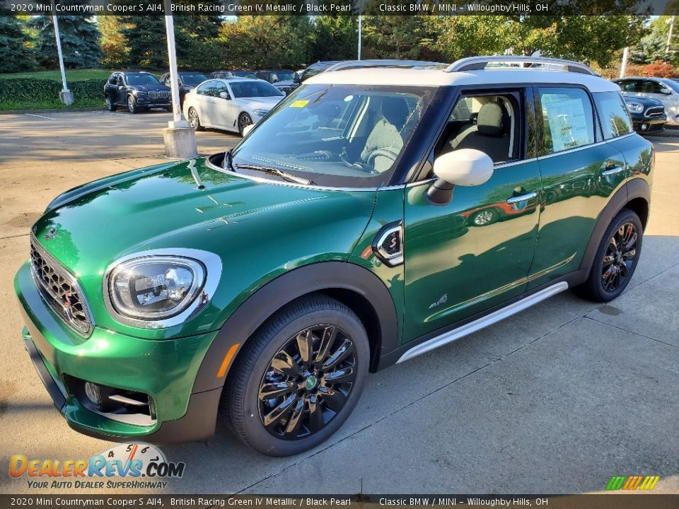 British Racing Green IV Metallic 2020 Mini Countryman Cooper S All4 Photo #4