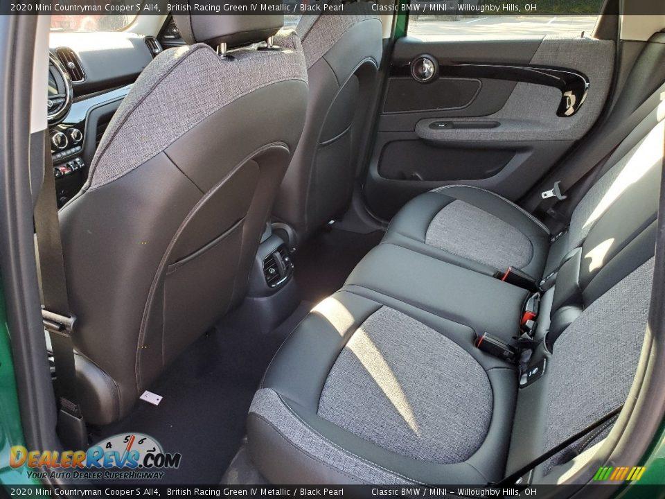 Rear Seat of 2020 Mini Countryman Cooper S All4 Photo #7