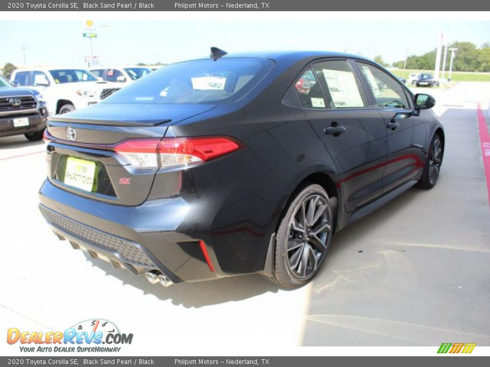 2020 Toyota Corolla SE Black Sand Pearl / Black Photo #8