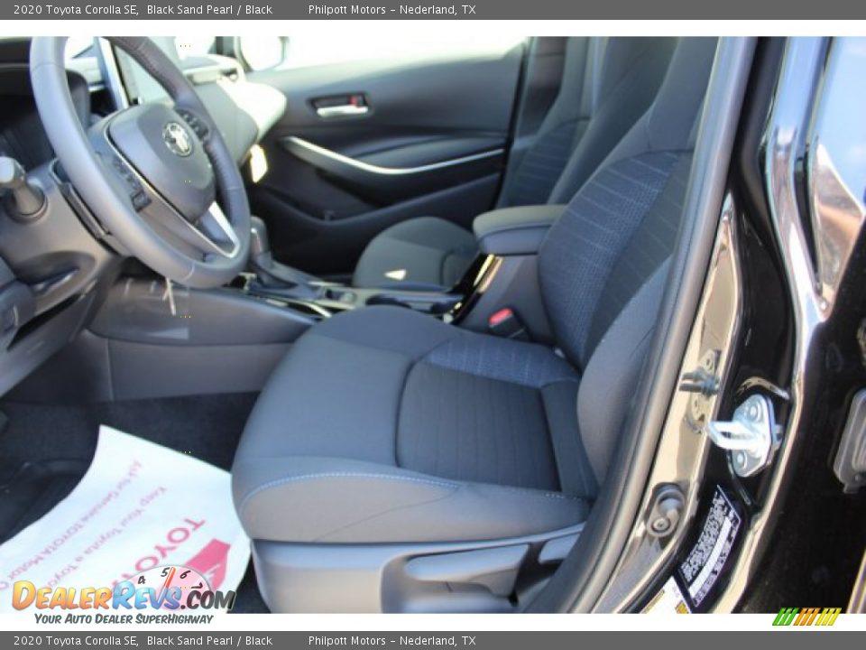 2020 Toyota Corolla SE Black Sand Pearl / Black Photo #10