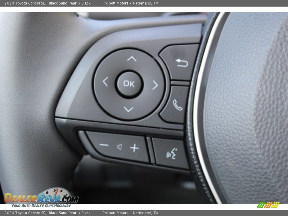2020 Toyota Corolla SE Black Sand Pearl / Black Photo #11