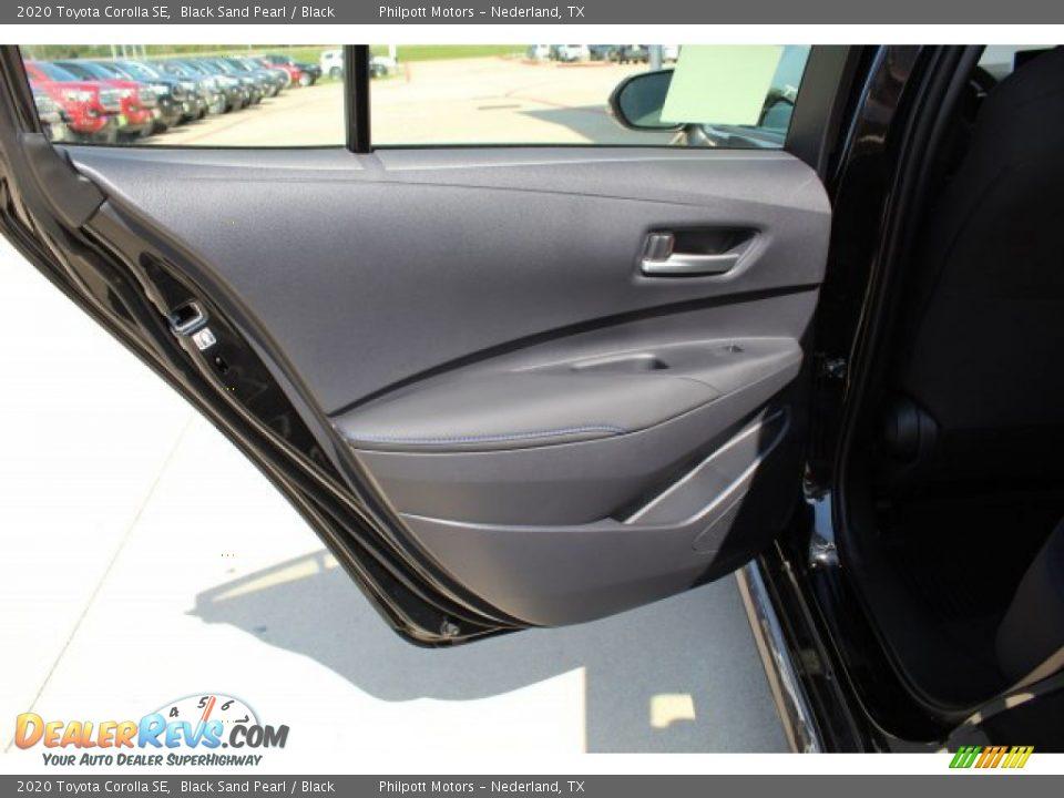 2020 Toyota Corolla SE Black Sand Pearl / Black Photo #18