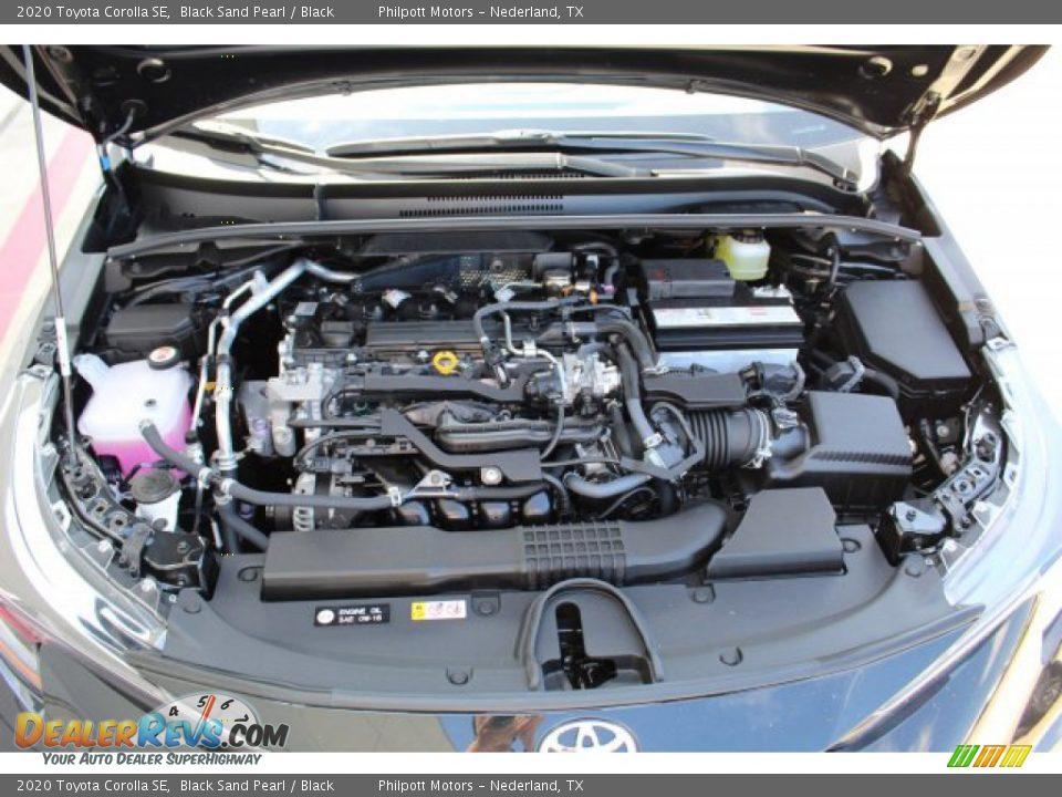 2020 Toyota Corolla SE Black Sand Pearl / Black Photo #23