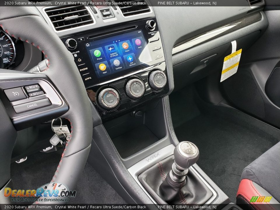 2020 Subaru WRX Premium Shifter Photo #11