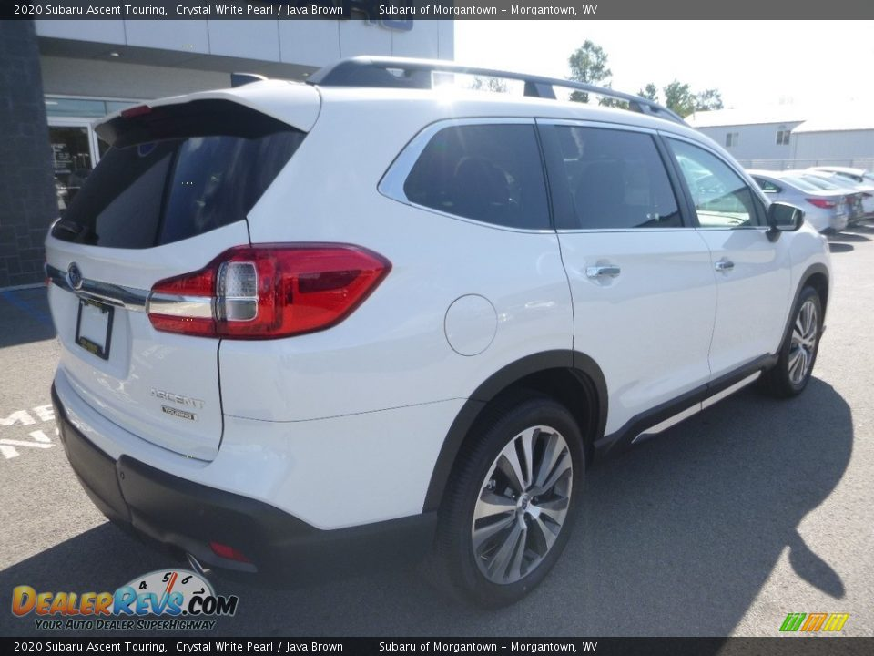 2020 Subaru Ascent Touring Crystal White Pearl / Java Brown Photo #4