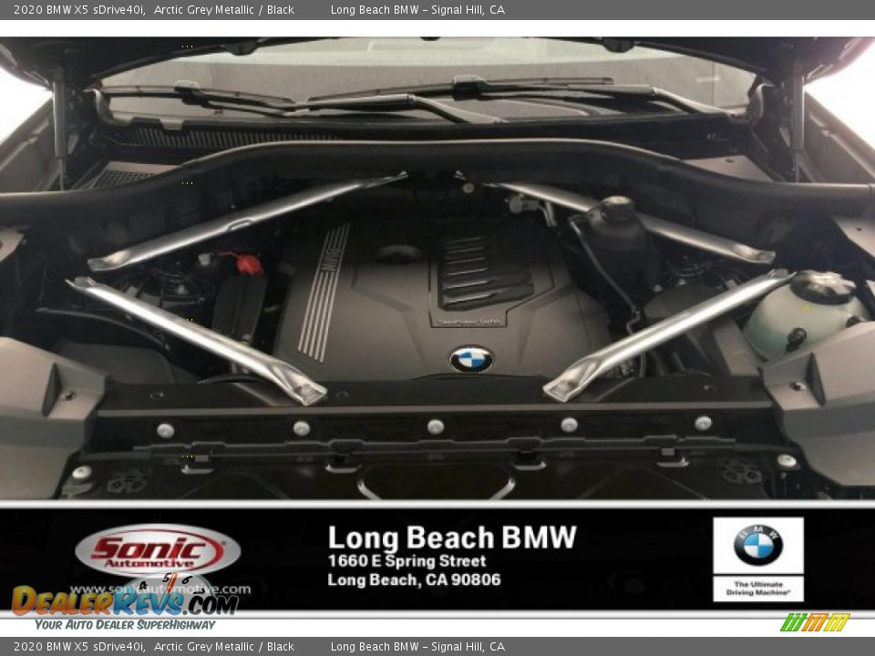 2020 BMW X5 sDrive40i Arctic Grey Metallic / Black Photo #8
